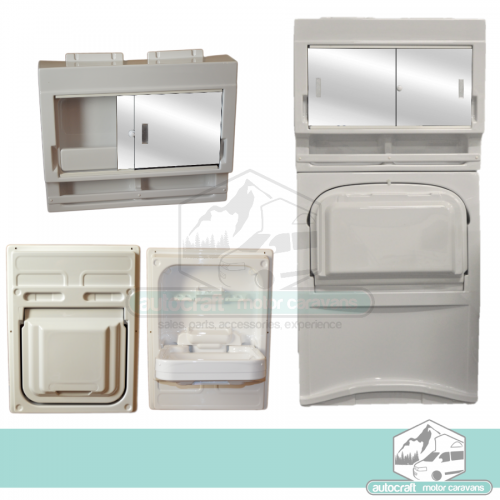 Tip Up Sinks and Vanity Units